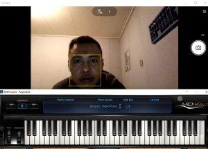 Keyboard muziek instuderen