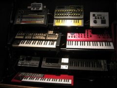 Keyboard versus synthesizer