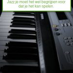 Jazz op het keyboard?